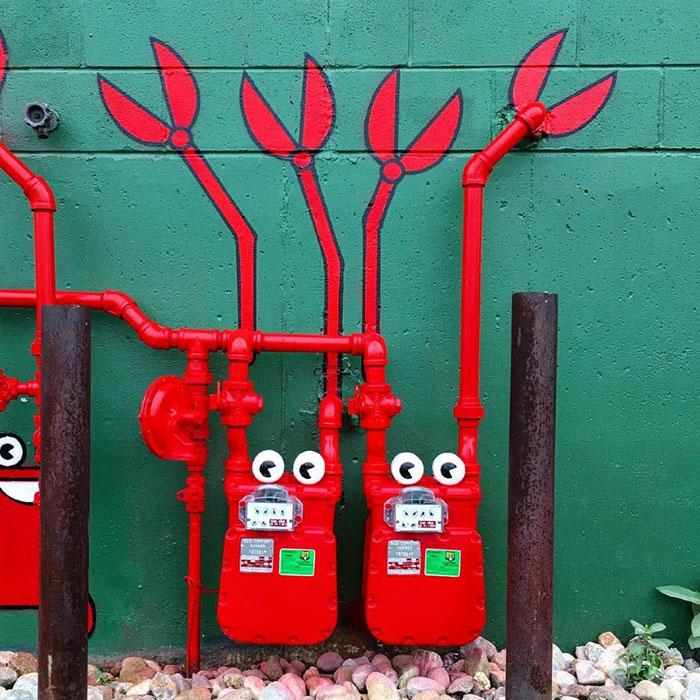 Arte de rua em Nova York - Tom Bob