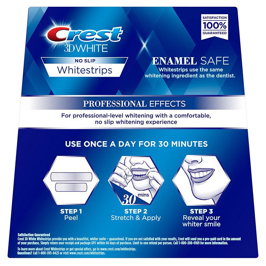 Crest 3D Professional Whitestrips