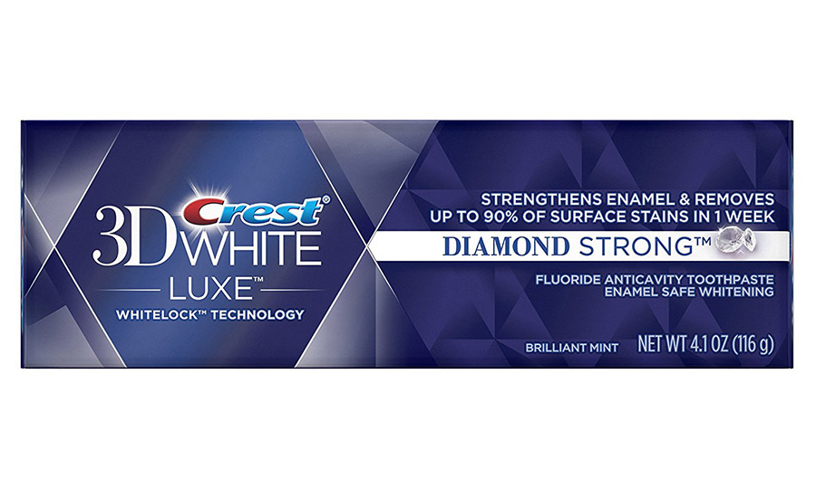 Crest 3D White Luxe Diamond Strong