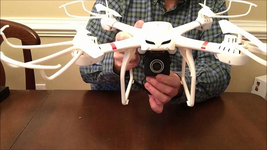 DBPower Hawkeye III X101c FPV RC Drone