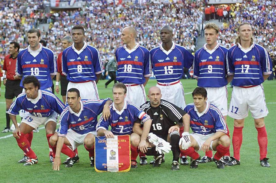 Selecção Francesa do Campeonato da Europa de 2000