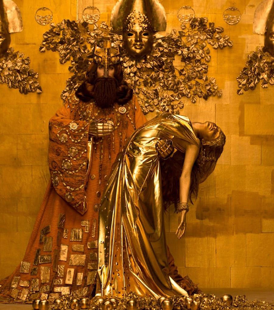 Gustav Klimt - King Midas