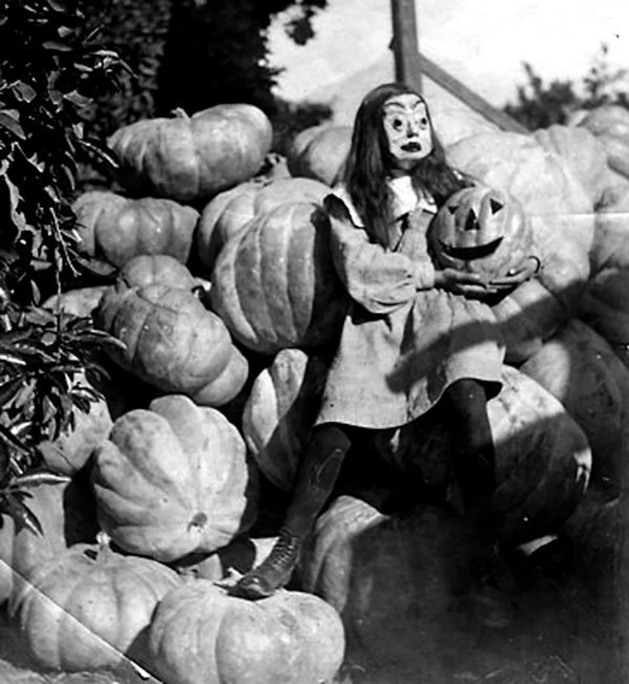 Hallowen - Menina das Abóboras