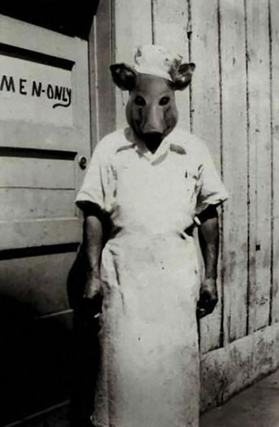 Fantasia de Enfermeira Porca