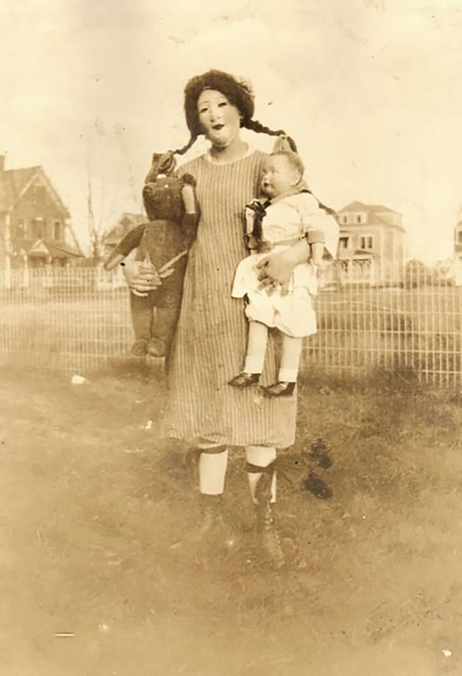Hallowen - Mãe e Filhos