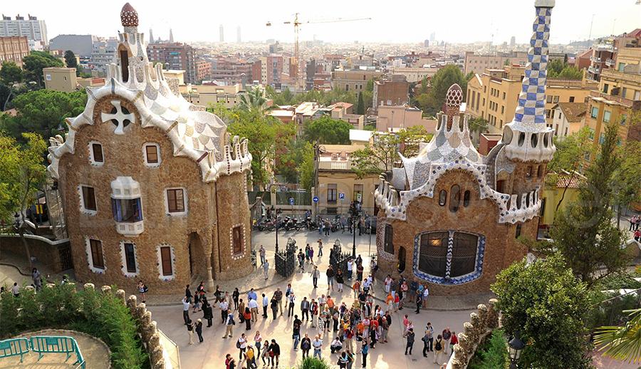 Parque Guél - Barcelona