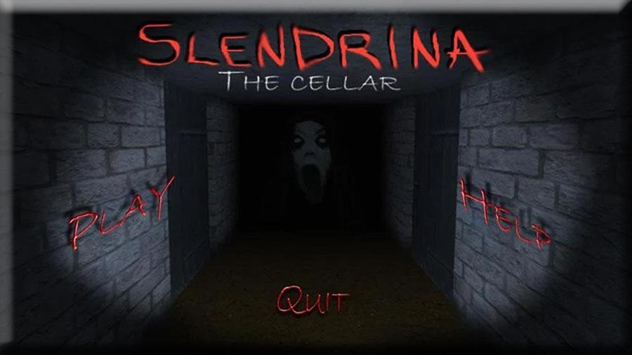 Slendrina cellar. jogo smartphone