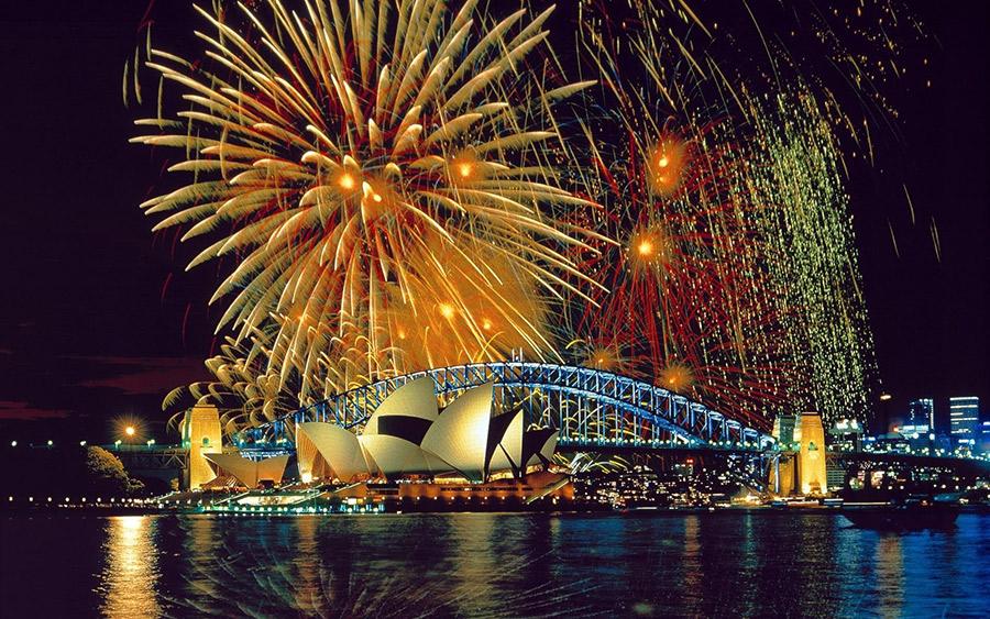 Sydney - Passagem de Ano