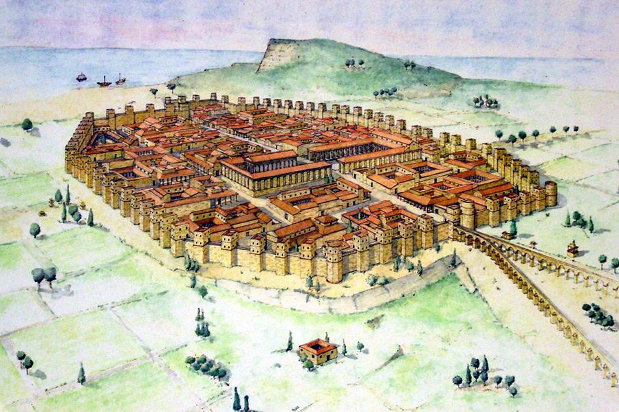 Barcino - Nome da cidade de Barelona