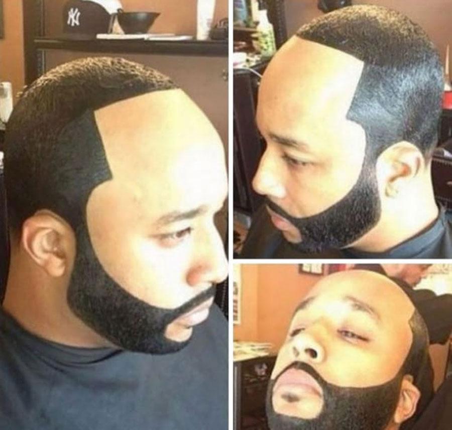corte de cabelo cabeca