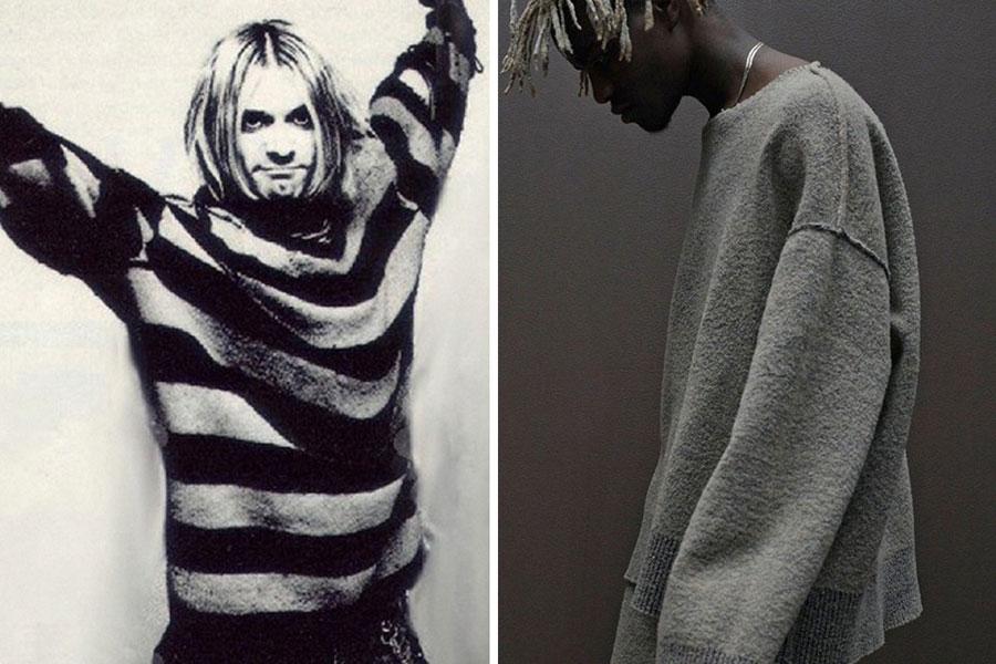 Kurt Cobain - Roupa Larga
