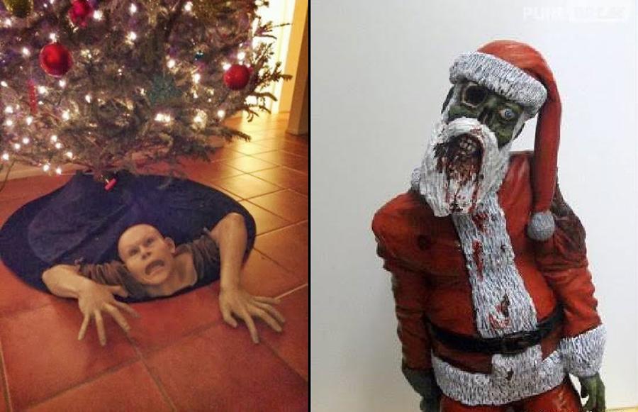 Decoração de Natal Bizarra