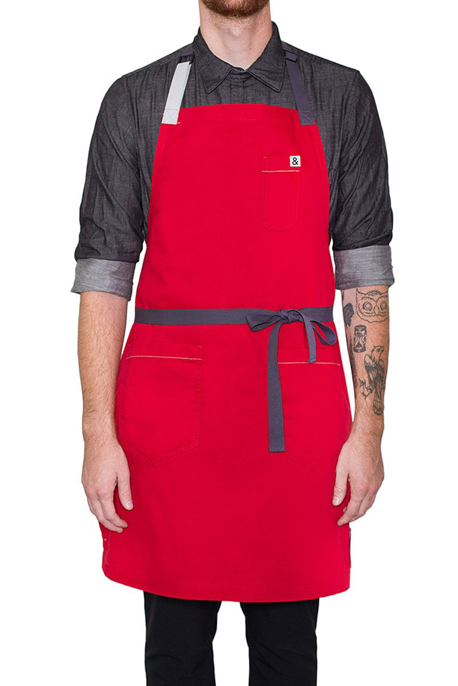 Hedley & Bennet (RED) Chef's Apron