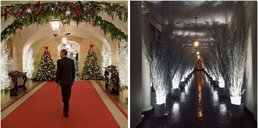 Decoração de Natal - Casa Branca