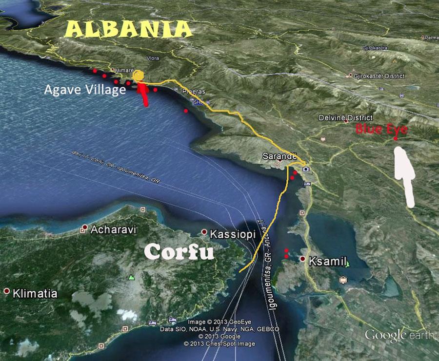 Mergulhar na Albânia