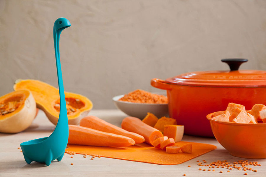 Nessie Ladle Turquoise by OTOTO