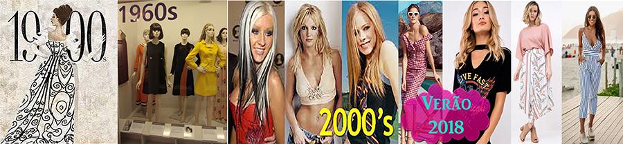 Moda Feminina - Evolução