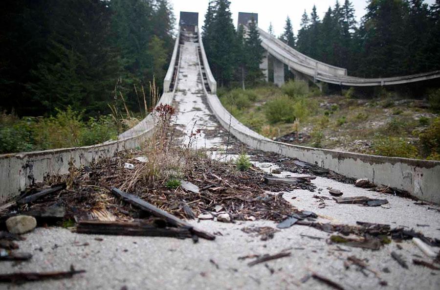 Jogos Olímpicos, locais abandonados