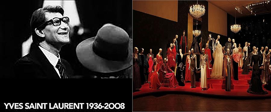 Yves Saint Laurent - Retrospectiva da morte Petit Palais