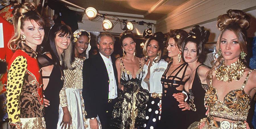Modelos de Gianni Versace