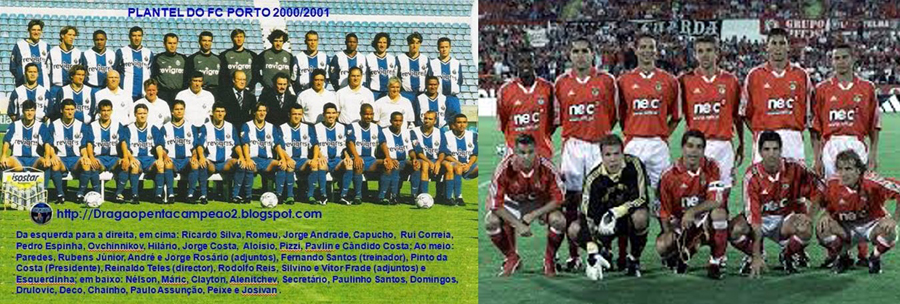 Porto Benfica 2000/2001