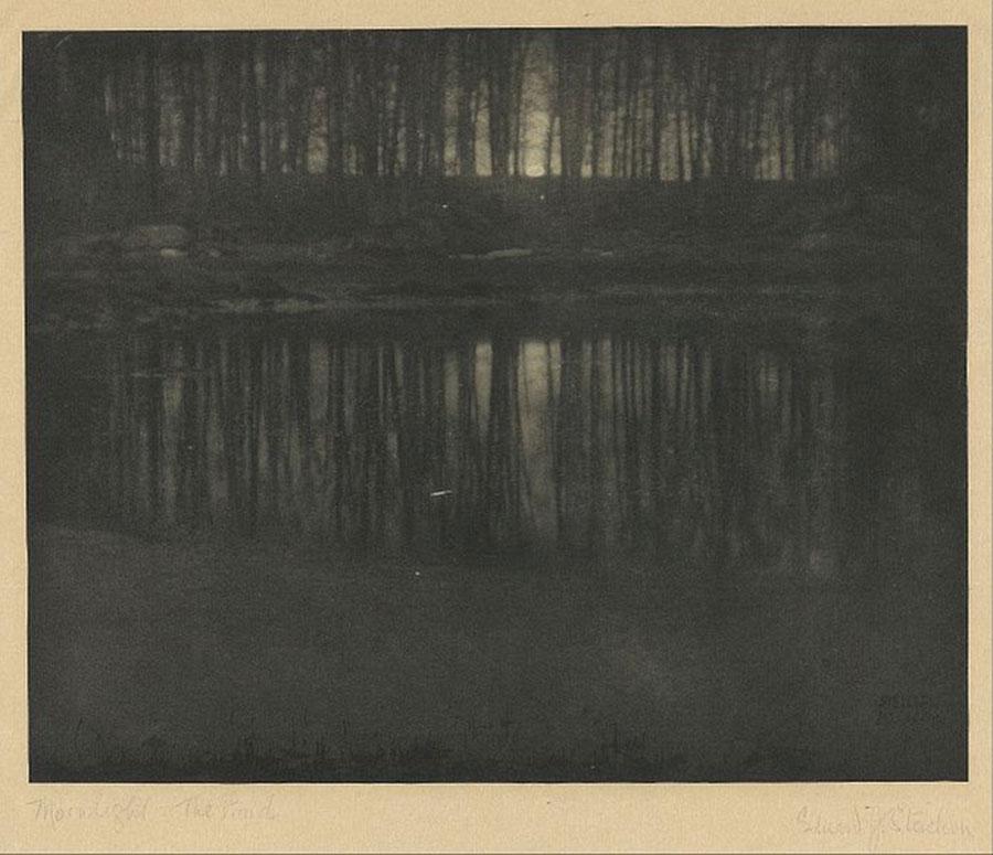Edward Steichen - The Pond/Moonlight © (1904)