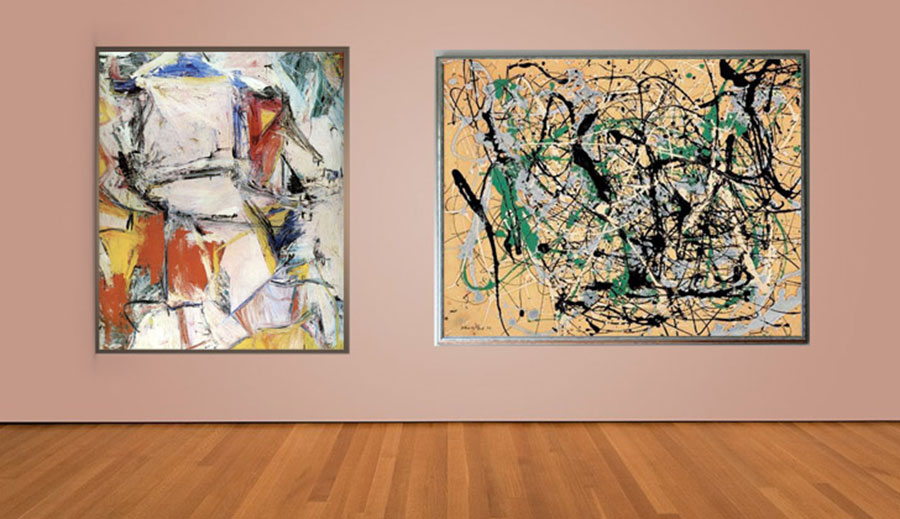Interchange - Willem de Kooning (1955)