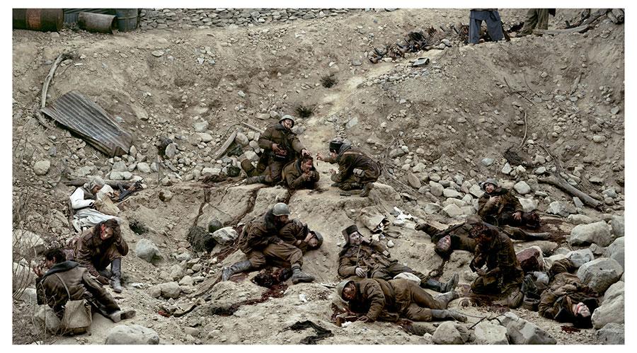Jeff Wall - Dead Troops Talk © (1992)