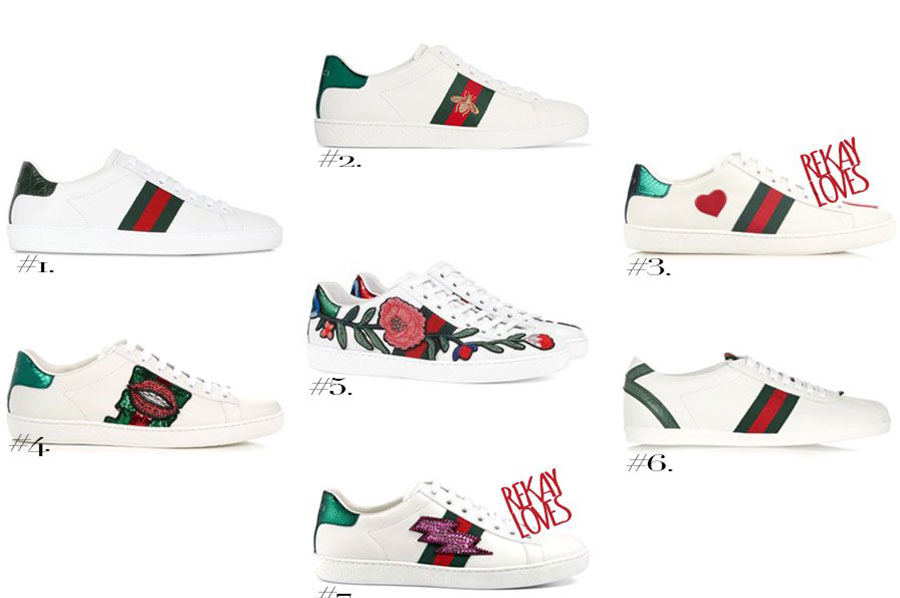 Gucci - sapatilhas (ténis)