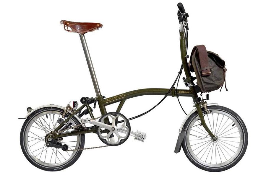 Brompton - M6L folding bike