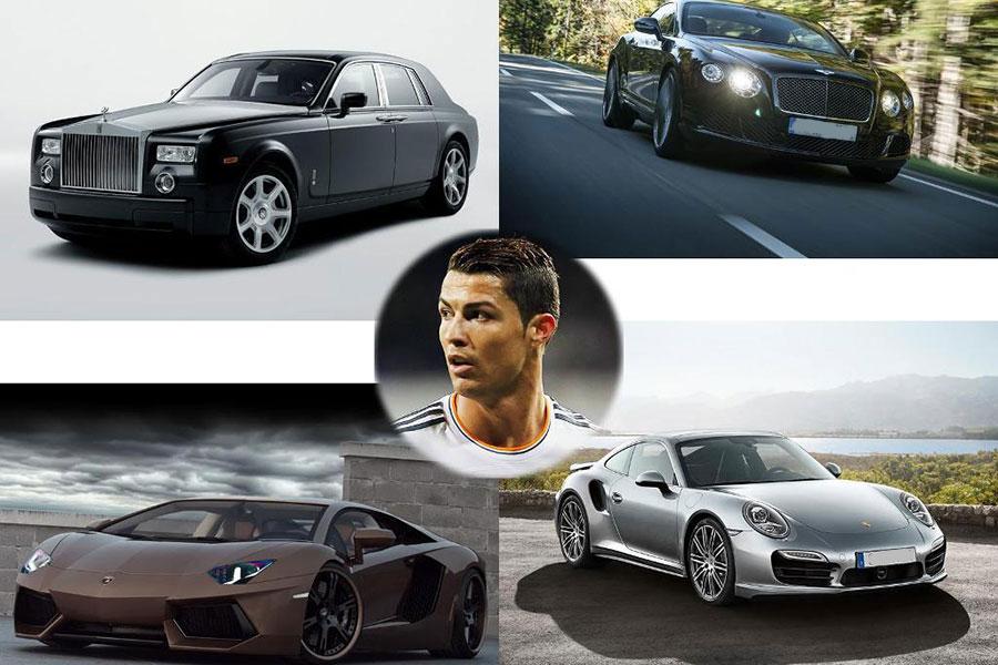 Coleção de carros de Cristiano Ronaldo