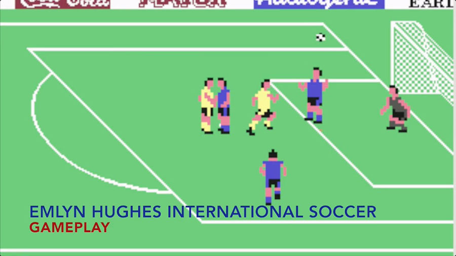 International Soccer - Commodore 64 - 1983