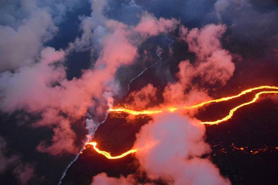 Kilauea vulcão