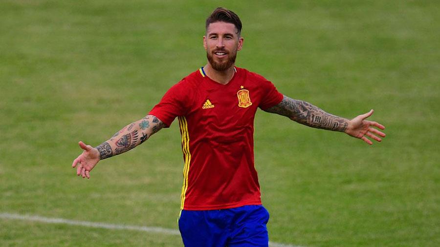 Sergio Ramos, Espanha