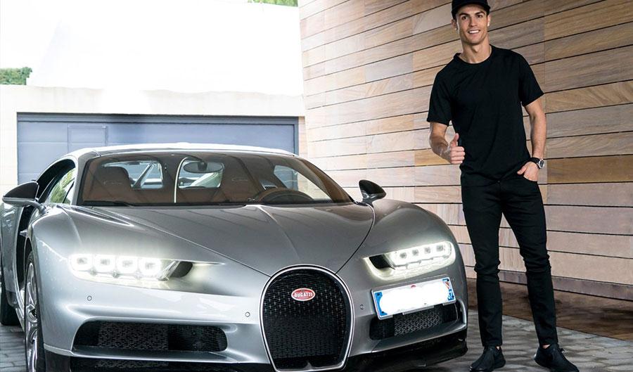 Bugatti Veyron - Cristiano Ronaldo