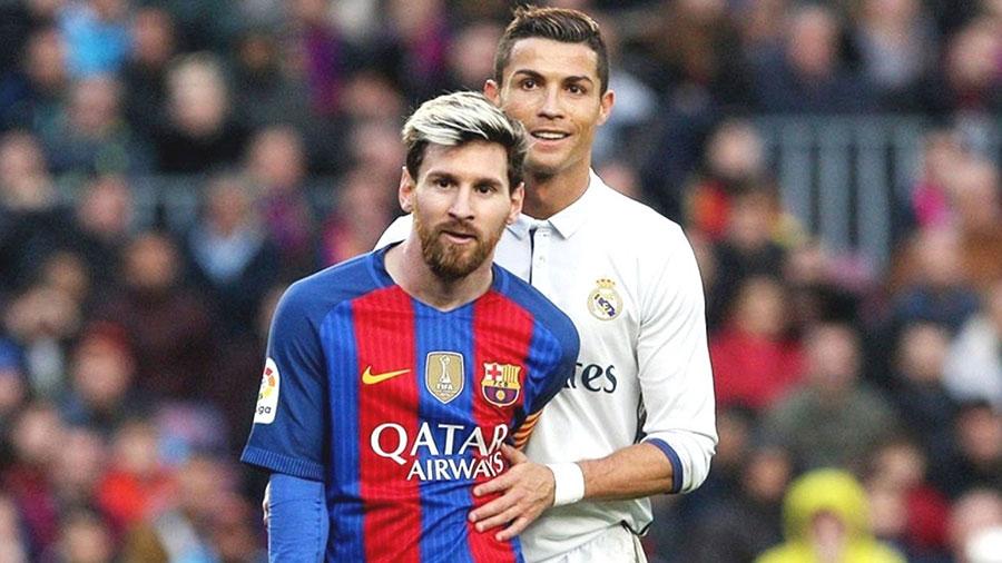 Messi e Ronaldo - Diferenças