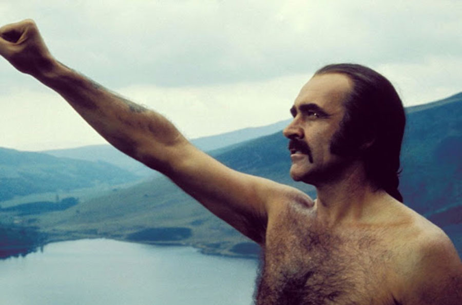 Sean Connery Mankini Zardoz - 1974