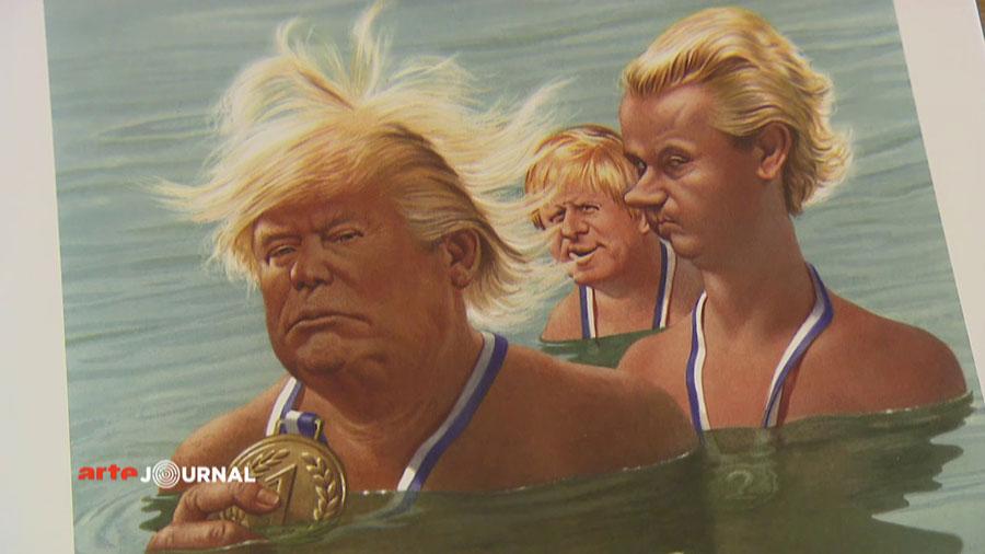 Gerhard Haderer - Trump