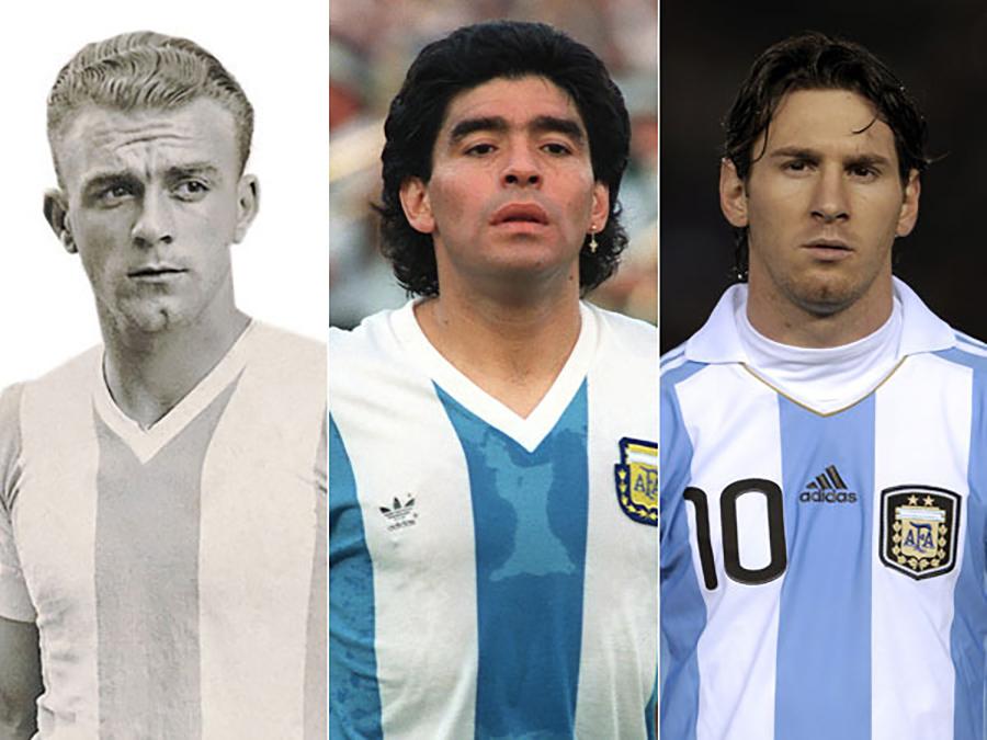 Melhores Jogadores Argentinos