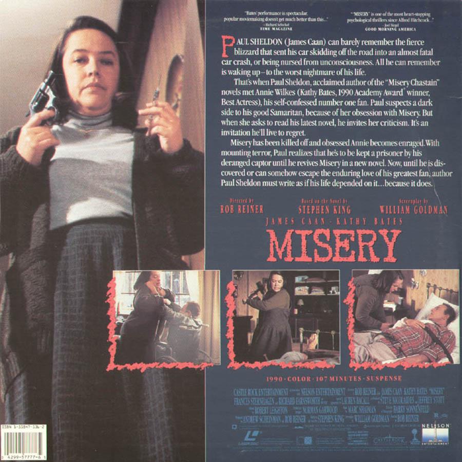 Misery - Rob Reiner -.Stephen King