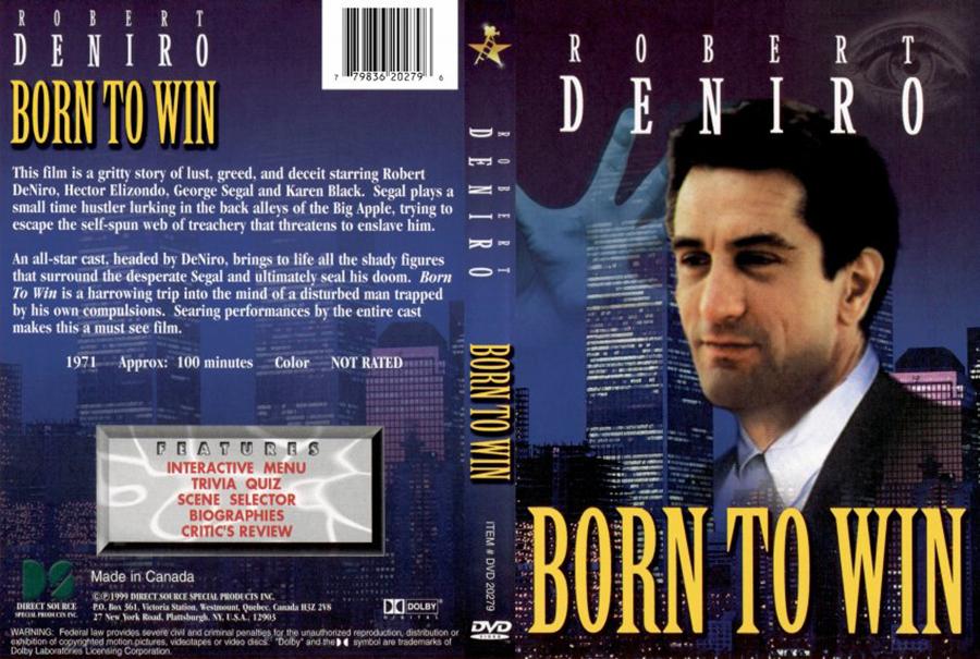 Born to Win - Robert de Niro