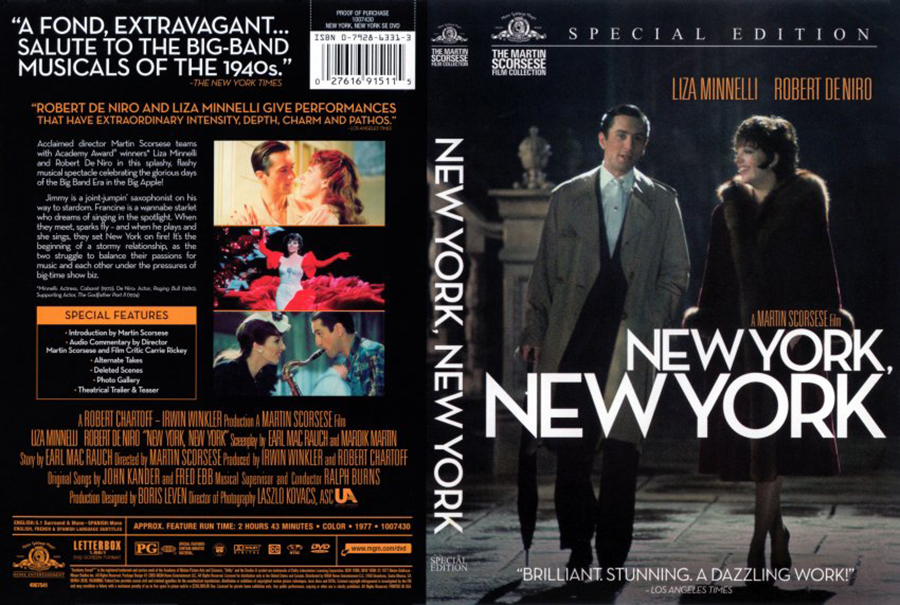 New York New York - Robert de Niro