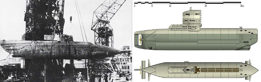 submarino tipo xii