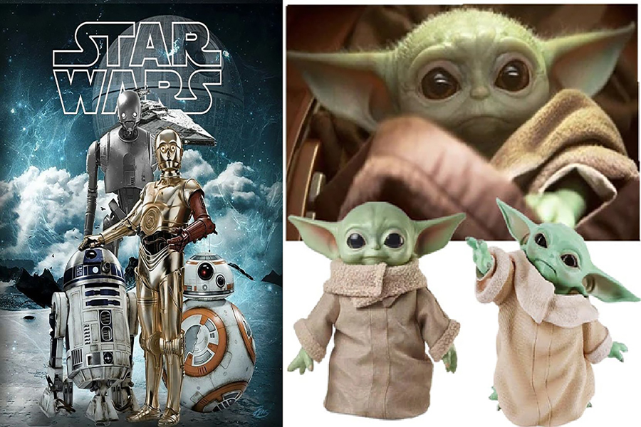 brinquedos Star Wars